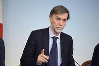 Roma, 28 Febbraio 2014<br /> Il sottosegretario alla Presidenza Graziano Delrio al termine del  Consiglio dei Ministri.