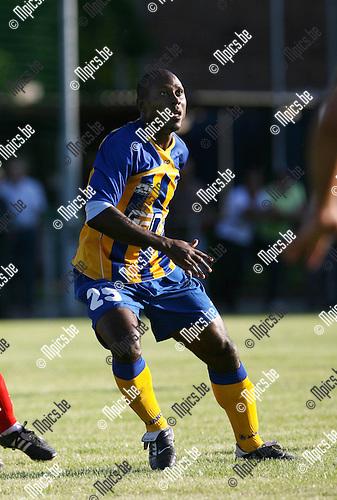 2010-07-28 / Seizoen 2010-2011 / Voetbal / KFCO Wilrijk / Junior Robert Suleiman..Foto: mpics