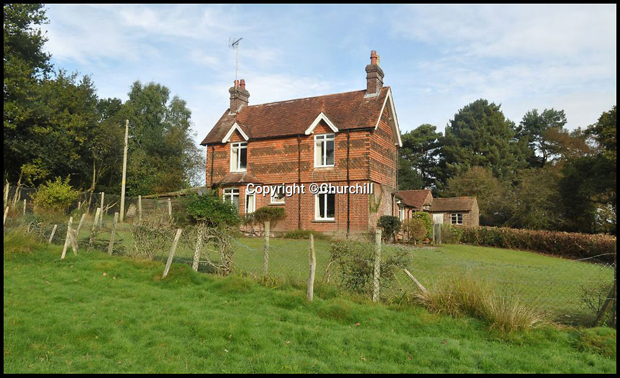 BNPS.co.uk (01202 558833)Pic: Churchill/BNPSFollow in Christopher Robin's footsteps - Idylliic home in the heart of Winnie the Pooh's forest for sale...<br /> <br /> A picturesque cottage in the heart of Ashdown Forest - the inspirational setting for AA Milne's Winnie the Pooh - is on the market for just over £1million.<br /> <br /> Little Millbrook Farm is in a secluded setting down a long country lane and surrounded by the 6,500-acre forest in East Sussex, the perfect place for an idyllic childhood like the famous author's son Christopher had in the 1920s.<br /> <br /> The three-bedroom cottage is in need of updating and comes with planning permission to turn it into a five-bedroom family home.<br /> <br /> It has been in the same family for the last 56 years but has now gone on the market with Churchill Country and Equestrian with a guide price of £1,050,000.