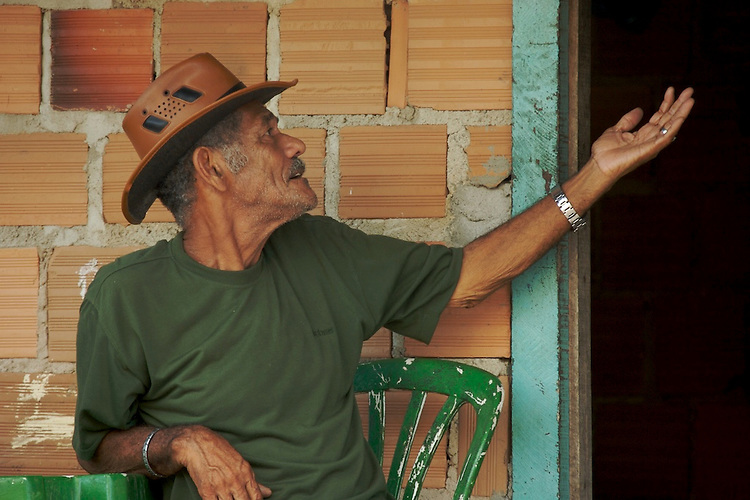 Brazilian man in Caraiva, Bahia.