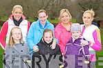 Killarney Ladies keeping fit at the Let's Get Kerry Walking/Operation Transformation walk in Muckross on Saturday was front row l-r: Kelly Anne O'Sullivan, Amber O'Sullivan, Carlise Caffrey. Back row: Liz Kennelly, Audrey O'Sullivan, Therese O'Sullivan and Tracy Caffrey....