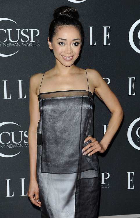 Aimee Garcia arriving at 'ELLE 5th Annual Women In Music Concert Celebration' held at the Avalon Los Angeles, CA. April 22, 2014.
