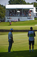Paul Casey (GBR) looks over his approach shot on 9 during round 3 of the WGC FedEx St. Jude Invitational, TPC Southwind, Memphis, Tennessee, USA. 7/27/2019.<br /> Picture Ken Murray / Golffile.ie<br /> <br /> All photo usage must carry mandatory copyright credit (© Golffile | Ken Murray)