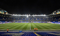 General view of the Stadium pre match during the UEFA Europa League group match between Tottenham Hotspur and Monaco at White Hart Lane, London, England on 10 December 2015. Photo by Andy Rowland.