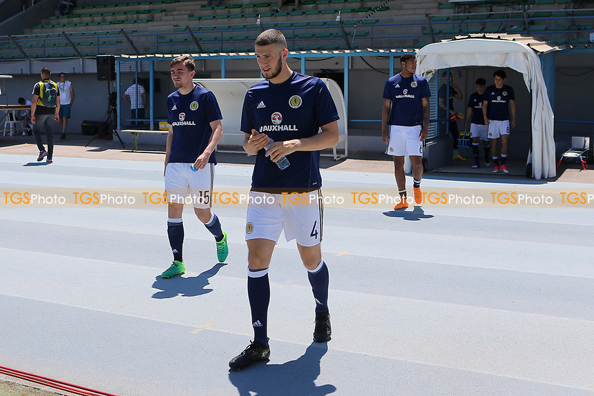 Alex Iacovitti of Nottingham Forest and Scotland pre-match during Czech Republic Under-20 vs Scotland Under-20, Toulon Tournament Football at Stade de Lattre-de-Tassigny on 10th June 2017