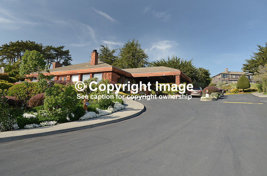 Inn at the Tides, hotel, Bodega Bay, California, USA. 201304292135<br /> <br /> Copyright Image from Victor Patterson, 54 Dorchester Park, Belfast, UK, BT9 6RJ<br /> <br /> Tel: +44 28 9066 1296<br /> Mob: +44 7802 353836<br /> Voicemail +44 20 8816 7153<br /> Skype: victorpattersonbelfast<br /> Email: victorpatterson@me.com<br /> Email: victorpatterson@ireland.com (back-up)<br /> <br /> IMPORTANT: If you wish to use this image or any other of my images please go to www.victorpatterson.com and click on the Terms &amp; Conditions. Then contact me by email or phone with the reference number(s) of the image(s) concerned.