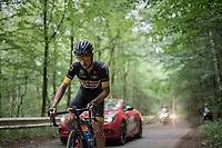 Quinten Hermans (BEL/Telenet Fidea Lions)<br /> <br /> Ster ZLM Tour (2.1)<br /> Stage 4: Hotel Verviers &gt; La Gileppe (Jalhay)(190km)