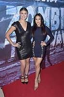 Lindsay Shaw und Cassandra Scerbo at the premiere of SyFy TV-Film Zombie Tidal Wave at the Garland Hotel in Los Angeles, California August 12, 2019. Credit: Action Press/MediaPunch ***FOR USA ONLY***