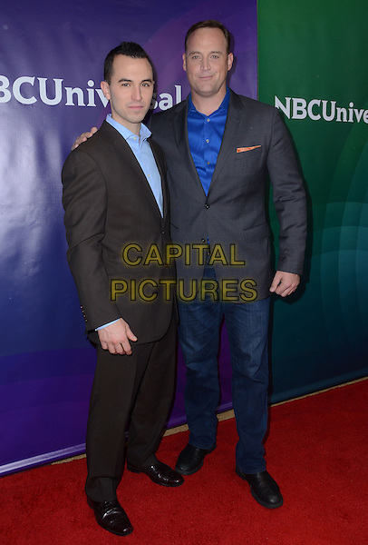 14 January  - Pasadena, Ca - Joe Moravsky, Matt Iseman. NBC Universal Press Tour Day 2 held at The Langham Huntington Hotel.  <br /> CAP/ADM/BT<br /> &copy;BT/ADM/Capital Pictures