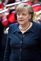 La Cancelliera tedesca Angela Merkel arriva a Roma per un incontro con Mario Monti..German Chancellor Angela Merkel arrives in Rome to meet with Italian Prime Minister Mario Monti at Palazzo Chigi.