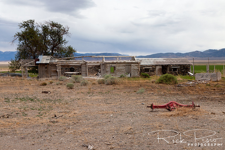 Tippet's Ranch, which lies along the Lincoln Highway in Eastern Nevada, was in use from the early 1900's and closed in the 1970's.