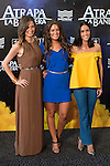 Weather host Rosemary Alker (L), Laura Madrue&ntilde;o (C), Alba Lago (R) attends to the photocall during the premiere of &quot;Atrapa la Bandera&quot; at Kinepolis Cinema in Madrid, August 26, 2015. <br /> (ALTERPHOTOS/BorjaB.Hojas)
