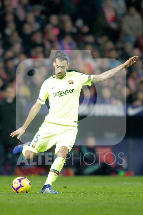 Futbol Club Barcelona's Sergio Busquets during La Liga match. November 24,2018. (ALTERPHOTOS/Alconada)