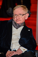 LONDON, ENGLAND - FEBRUARY 08:  Stephen Hawking attends the EE British Academy Film Awards 2015 at the Royal Opera House , on February 08, 2015 in London, England. <br /> CAP/CJ<br /> &copy;CJ/Capital Pictures /MediaPunch ***NORTH AND SOUTH AMERICAS ONLY***