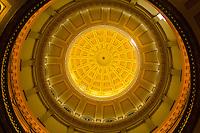 Rotunda of the Colorado State Capitol, Denver, Colorado USA