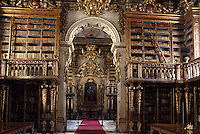 Europe/Portugal/Coimbra : Bibliothèque Joanine de l'université