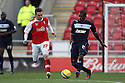 Anthony Grant of Stevenage sets up an attack. Rotherham United v Stevenage - FA Cup 1st Round - New York Stadium, Rotherham - 3rd November 2012. © Kevin Coleman 2012.
