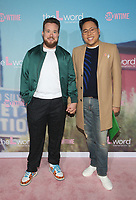 """2 December 2019 - Los Angeles, California - Zeke Smith, Nico Santos. Premiere Of Showtime's """"The L Word: Generation Q"""" held at Regal LA Live. Photo Credit: FS/AdMedia /MediaPunch"""
