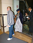 3-21-09.Janet Jackson leaving LAX airport in Los Angeles heading out of town with Jermaine Dupri, baby bump..Abilityfilms@yahoo.com.805-427-3519.www.AbilityFilms.com