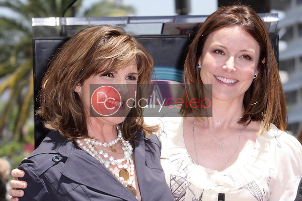 Susan Saint James and Christa Miller<br />at the award ceremony honoring Susan Saint James with a star on the Hollywood Walk of Fame. Hollywood Blvd., Hollywood, CA. 06-11-08<br />Dave Edwards/DailyCeleb.com 818-249-4998