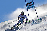 Alpine Ski World Cup Opening. Roland Leitinger in action at the Men's Giant Slalom in Solden on October 23, 2016. French Alexis Pinturault is leading ahead of Austrian Marcel Hirscher's after the first run.