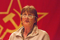 Ella Rule Vice Chairman CPGB-ML uses the occassion of Kim Il-sung's birth Commemoration to comment on Kim Il-sung's contribution to Marxism Leninism and part he played in the Korean liberation The event was attended by Mr. Hyon Hak Bong Ambassador to UK of the DPR Korea Saklatvala Hall Southall 14th April 2013..