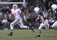 07 November 2009:  Ohio State QB Terrelle Pryor (2) rolls out to pass.  The Ohio State Buckeyes defeated the Penn State Nittany Lions 24-7 at Beaver Stadium in State College, PA..