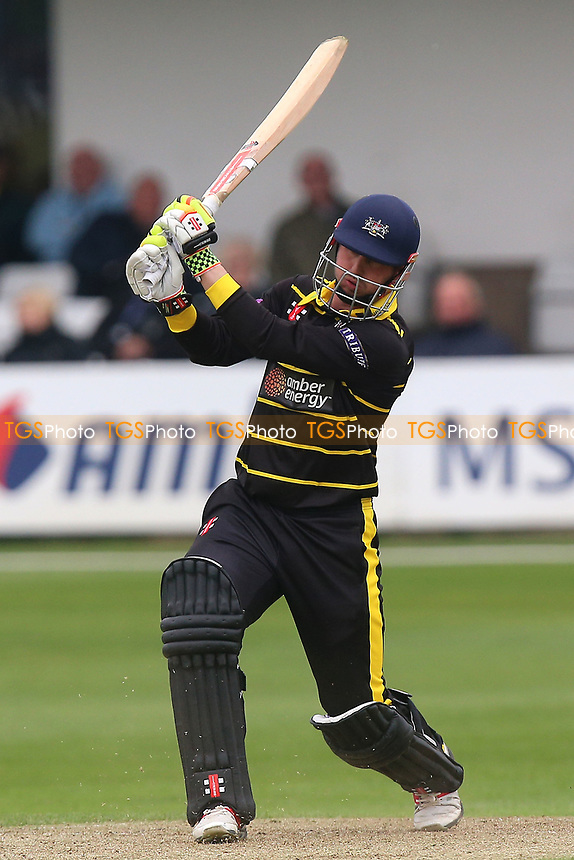 Phil Mustard in batting action for Gloucestershire during Essex Eagles vs Gloucestershire, Royal London One-Day Cup Cricket at The Cloudfm County Ground on 4th May 2017