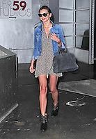"""Miranda Kerr leaving the """" Pier 59 Studios """" in New York City after a photoshoot - New York"""
