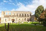 Malmesbury abbey church building, Wiltshire, England, UK