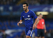 12th September 2017, Stamford Bridge, London, England; UEFA Champions League Group stage, Chelsea versus Qarabag FK; Pedro of Chelsea looks on