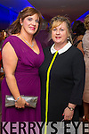 Lucile Brown and Siobhan O'Sullivan (Kilgarvan), pictured at Christmas in Killarney Fashion Show held in the Aghadoe Heights Hotel, Killarney on Thursday last.
