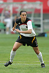 09 August 2008: Birgit Prinz (GER).  The women's Olympic soccer team of Germany defeated the women's Olympic soccer team of Nigeria 1-0 at Shenyang Olympic Sports Center Wulihe Stadium in Shenyang, China in a Group F round-robin match in the Women's Olympic Football competition.