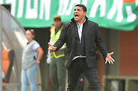 ENVIGADO - COLOMBIA, 08-03-2020: Francesco Stifano técnico del Rionegro gesticula durante partido por la fecha 8 de la Liga BetPlay DIMAYOR I 2020 entre Envigado F.C. y Rionegro Águilas jugado en el estadio Polideportivo Sur de Envigado. / Francesco Stifano coach of Rionegro gestures during match for the date 8 of the BetPlay DIMAYOR League I 2020 between Envigado F.C. and Rionegro Aguilas played at Polideportivo Sur stadium of Envigado city.  Photo: VizzorImage / Leon Monsalve / Cont