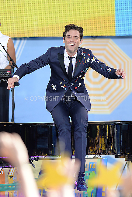 WWW.ACEPIXS.COM<br /> July 3, 2015 New York City<br /> <br /> Mika performing on Good Morning America's summer concert series in Central Park on July 3, 2015 in New York City.<br /> <br /> Credit: Kristin Callahan/ACE Pictures<br /> <br /> Tel: 646 769 0430<br /> e-mail: info@acepixs.com<br /> web: http://www.acepixs.com