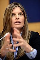 Roma, 9 Marzo 2017<br /> Laura Ravetto.<br />  Parlamentari di Forza Italia presentano la proposta sulla Sicurezza .