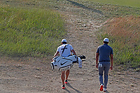 Brooks Koepka (USA) walks the 15th hole during the 118th U.S. Open Championship at Shinnecock Hills Golf Club in Southampton, NY, USA. 17th June 2018.<br /> Picture: Golffile | Brian Spurlock<br /> <br /> <br /> All photo usage must carry mandatory copyright credit (&copy; Golffile | Brian Spurlock)