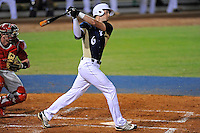 2 March 2012:  FIU outfielder Nathan Burns (6) bats early in the game as the FIU Golden Panthers defeated the Brown University Bears, 6-5, at University Park Stadium in Miami, Florida.