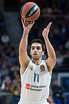 Real Madrid Facundo Campazzo during Turkish Airlines Euroleague match between Real Madrid and Valencia Basket at Wizink Center in Madrid, Spain. December 19, 2017. (ALTERPHOTOS/Borja B.Hojas)