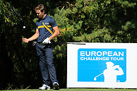 Sean Crocker (USA) during the final round of the Kazakhstan Open presented by ERG played at Zhailjau Golf Resort, Almaty, Kazakhstan. 16/09/2018<br /> Picture: Golffile   Phil Inglis<br /> <br /> All photo usage must carry mandatory copyright credit (&copy; Golffile   Phil Inglis)