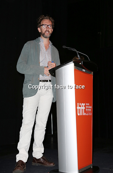 John Carney during the 2013 Tiff Film Festival Presentation for &quot;Can A Song Save Your Life?&quot; at The Princess of Wales Theatre on September 7, 2013 in Toronto, Canada.<br />