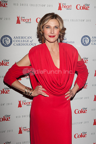 NEW YORK, NY - FEBRUARY 6: Brenda Strong in Marc Bouwer attends The Heart Truth Red Dress Collection 2013 Fashion Show on February 6, 2013 in New York City. © Diego Corredor/MediaPunch Inc. ...