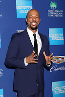 PALM SPRINGS - JAN 2:  Common at the 2018 Palm Springs International Film Festival Gala at Convention Center on January 2, 2018 in Palm Springs, CA