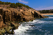 Acadia National Park located on Mount Desert Island, Maine USA which is part of scenic New England.
