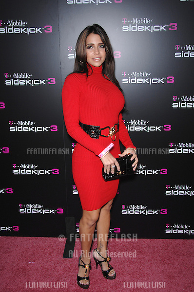 VIDA GUERRA at party in Beverly Hills to launch the new limited edition T-Mobile Sidekick 3 designs..October 12, 2006  Los Angeles, CA.Picture: Paul Smith / Featureflash