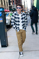 NEW YORK, NY - JANUARY 9: Benjamin Wadsworth is seen at BuzzFeed Studios on January 9, 2019 in New York City. <br /> CAP/MPI99<br /> &copy;MPI99/Capital Pictures