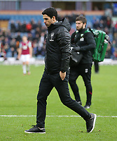 2nd February 2020; Turf Moor, Burnley, Lancashire, England; English Premier League Football, Burnley versus Arsenal; Arsenal manager Mikel Arteta after the match
