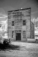 Kelly's Saloon at Garnet Ghost Town near Missoula Montana is one of Mantana's best preserved ghost towns.  Garnet was a thriving gold mining town about a hundred years ago.  Today there are approximately 30 buildings which look today much like they did in 1895.