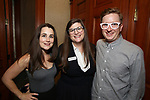 Lauren Worsham, Rachel Routh and Kyle Jarrow attends the DGF Salon with Kyle Jarrow on November  1, 2018 at The Uterbetg Residence in New York City.