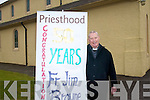 Fr Jim  Browne is celebrating the 50th anniversary of his ordination to the priesthood with a special mass and community celebration this week which has been organised by his local parishioners in Gneeveguilla in the parish of Rathmore.
